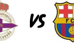 RC Deportivo – FC Barcelona