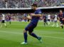 Soccer Football - La Liga Santander - FC Barcelona vs Valencia - Camp Nou, Barcelona, Spain - April 14, 2018   Barcelona's Luis Suarez celebrates scoring their first goal    REUTERS/Albert GeaCODE: X01398
