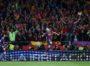 Soccer Football - Spanish King's Cup Final - FC Barcelona v Sevilla - Wanda Metropolitano, Madrid, Spain - April 21, 2018   Barcelona's Andres Iniesta celebrates scoring their fourth goal with Lionel Messi    REUTERS/Susana VeraCODE: X01622