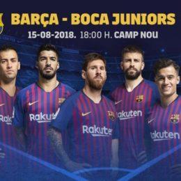 FC Barcelona – Boca Juniors