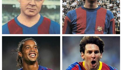 Vuestro 11 histórico del Barça