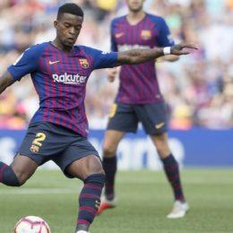 El lateral derecho del Barça