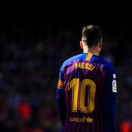 March 30, 2019 - Barcelona, Catalonia, Spain - 10 Leo Messi of FC Barcelona during the ''Derby'' of La Liga match between FC Barcelona and RCD Espanyol in Camp Nou Stadium in Barcelona 30 of March of 2019, Spain. (Credit Image: © Xavier Bonilla/NurPhoto via ZUMA Press)