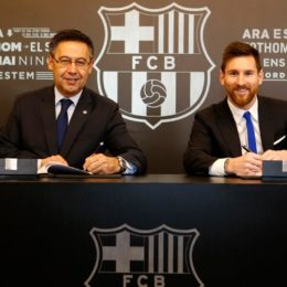 Messi y su contrato