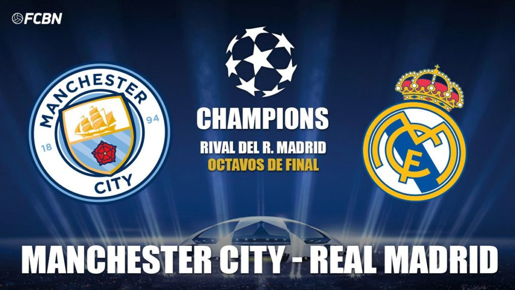 Manchester City vs Real Madrid 21:00