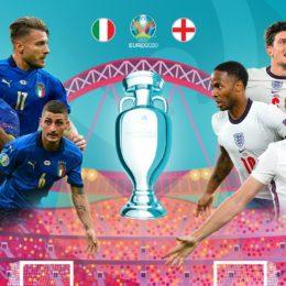 Final Eurocopa: Italia-Inglaterra